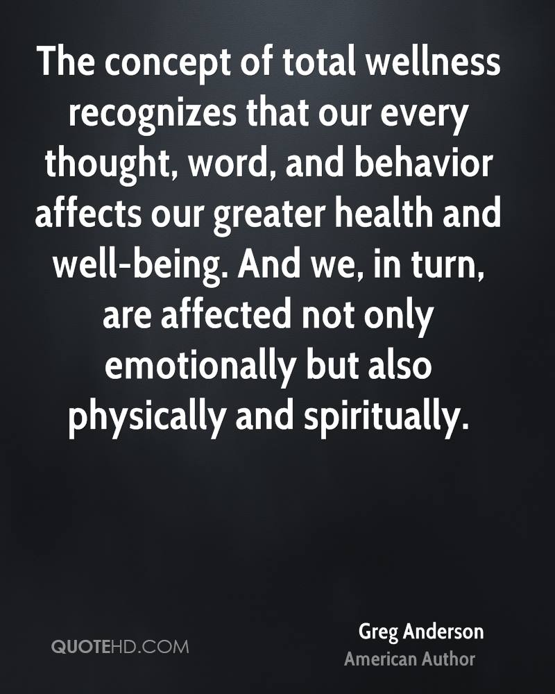 Wellness Quotes Greg Anderson Quotes  Quotehd