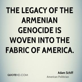The legacy of the Armenian Genocide is woven into the fabric of America.