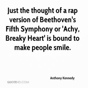 Just the thought of a rap version of Beethoven's Fifth Symphony or 'Achy, Breaky Heart' is bound to make people smile.