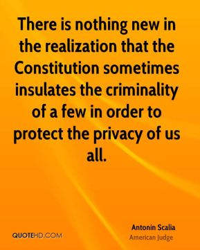 There is nothing new in the realization that the Constitution sometimes insulates the criminality of a few in order to protect the privacy of us all.