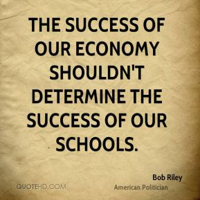 The success of our economy shouldn't determine the success of our schools.