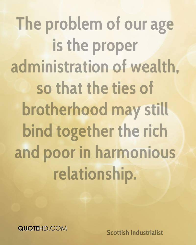 Quotes About The Rich And Poor: Andrew Carnegie Quotes