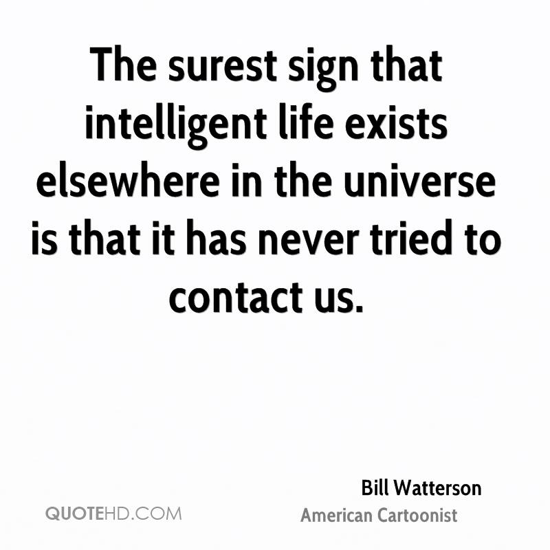 does intelligent life exist elsewhere in the universe