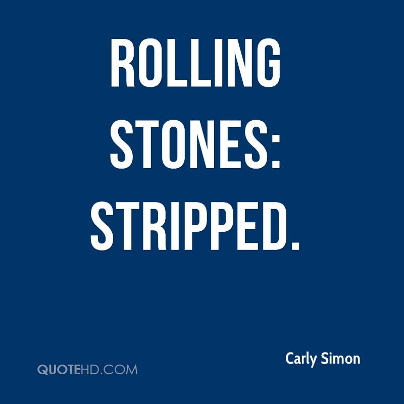 Rolling Stones: Stripped.