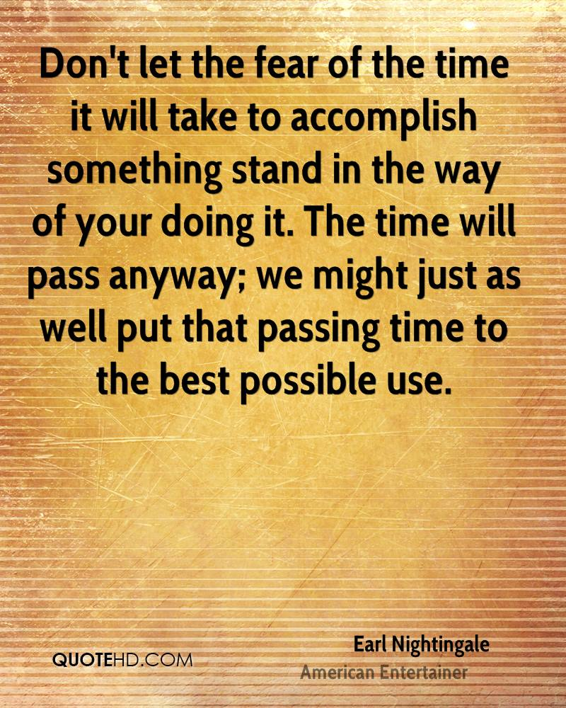 Quotes About Time Passing Earl Nightingale Time Quotes  Quotehd