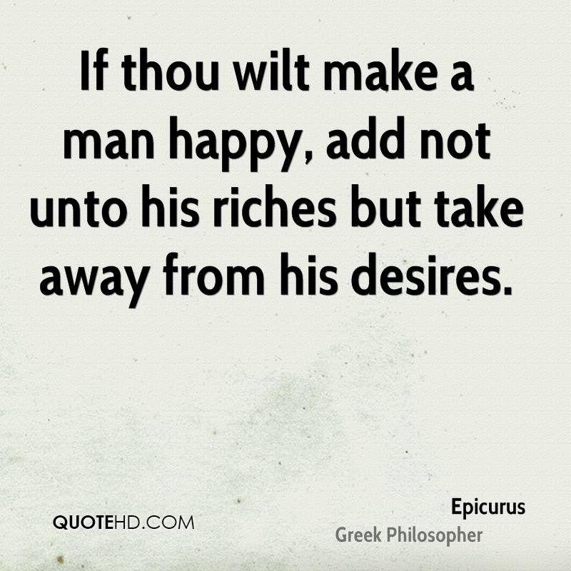 Question Things in which man's happiness consists