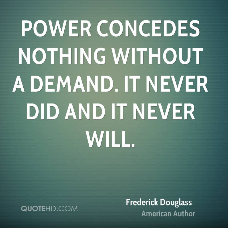 Narrative Of The Life Of Frederick Douglass Quotes: Inspirational Quotes By Frederick Douglass. QuotesGram