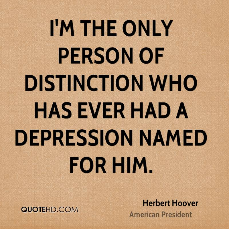 I'm the only person of distinction who has ever had a depression named for him.