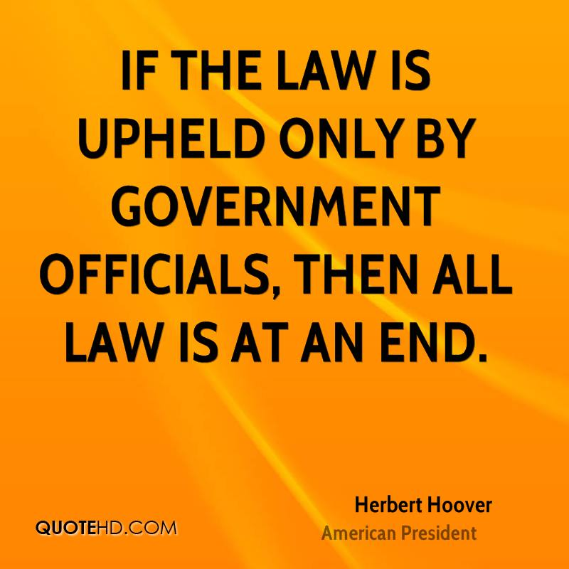 Government Quotes: Herbert Hoover Government Quotes