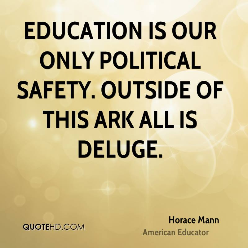 Horace Mann Quotes Adorable Horace Mann Education Quotes QuoteHD