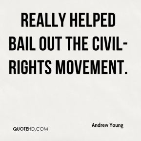 really helped bail out the civil-rights movement.