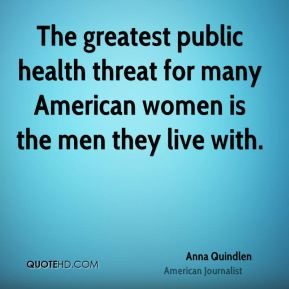 The greatest public health threat for many American women is the men they live with.