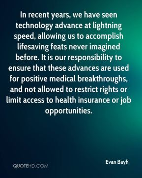 In recent years, we have seen technology advance at lightning speed, allowing us to accomplish lifesaving feats never imagined before. It is our responsibility to ensure that these advances are used for positive medical breakthroughs, and not allowed to restrict rights or limit access to health insurance or job opportunities.