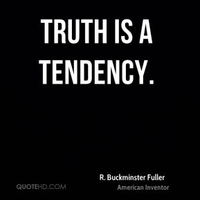 Truth is a tendency.
