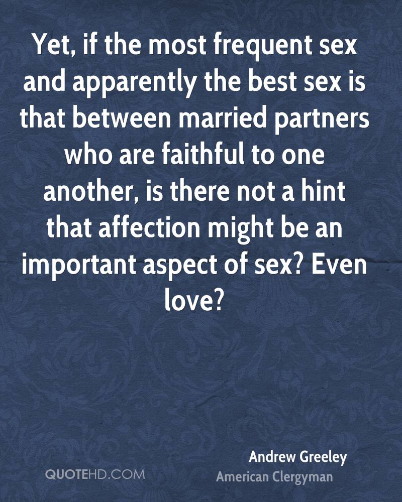 How important is affection in a marriage
