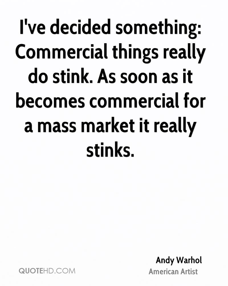 Commercial Quotes Andy Warhol Quotes  Quotehd