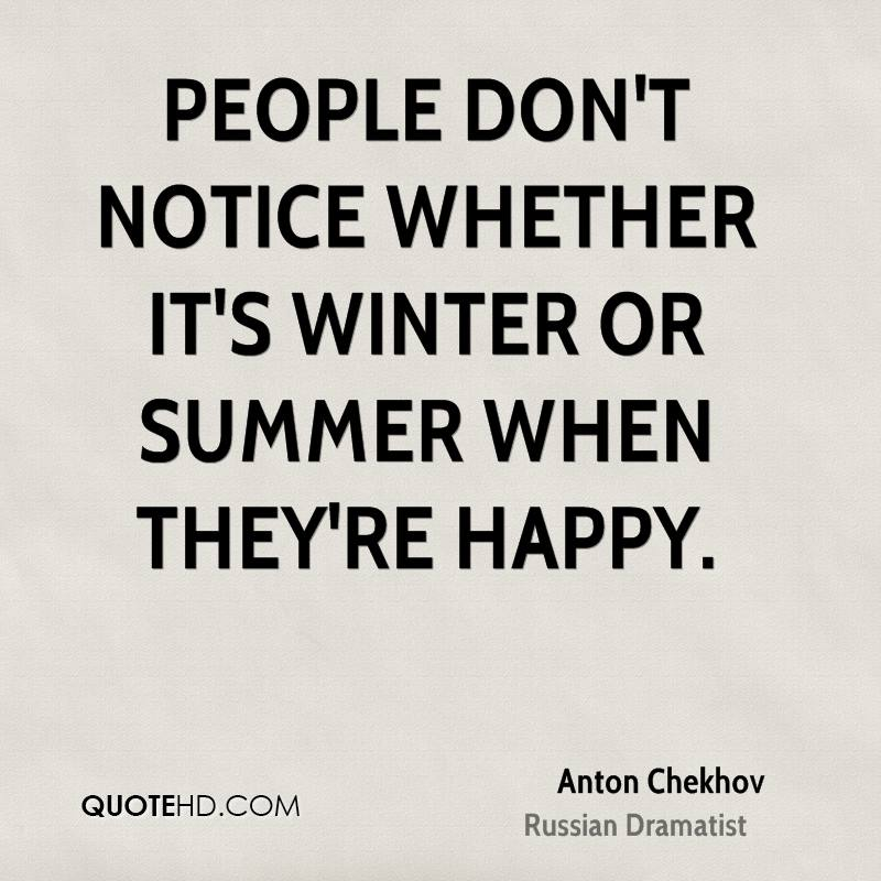 Quotes About People Who Notice: Anton Chekhov Wisdom Quotes