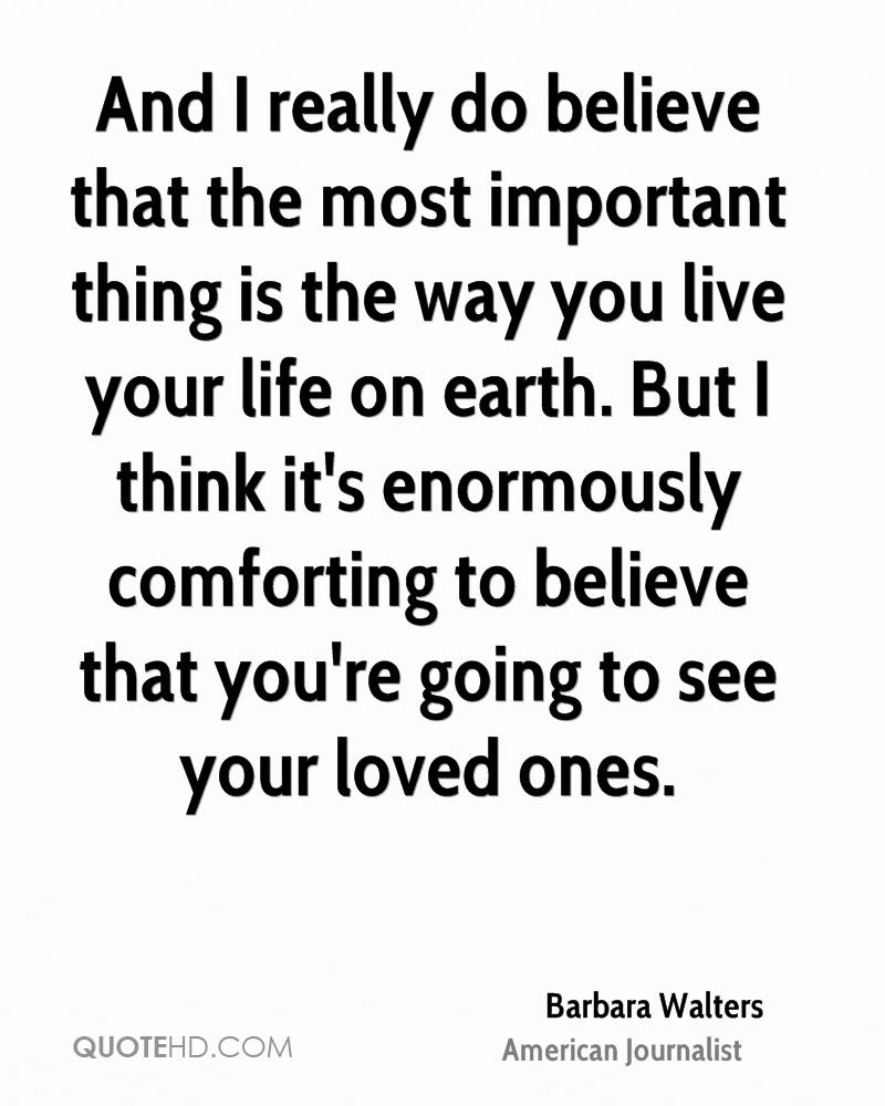 Comforting Quotes Barbara Walters Life Quotes  Quotehd