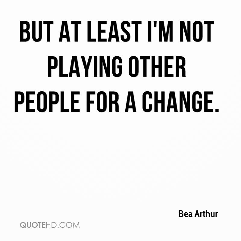 I m not change quotes