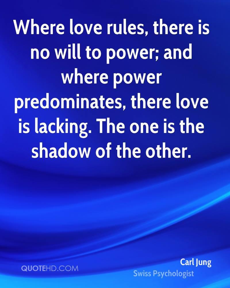 Love Power Quotes Carl Jung Power Quotes  Quotehd