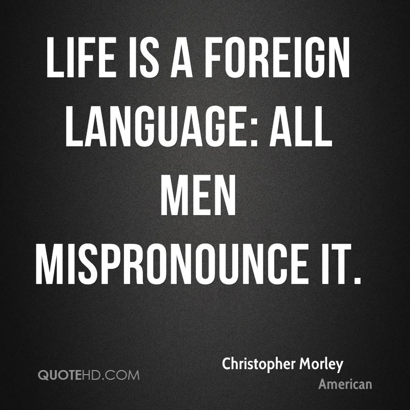 Foreign language Quotes - Page 1   QuoteHD