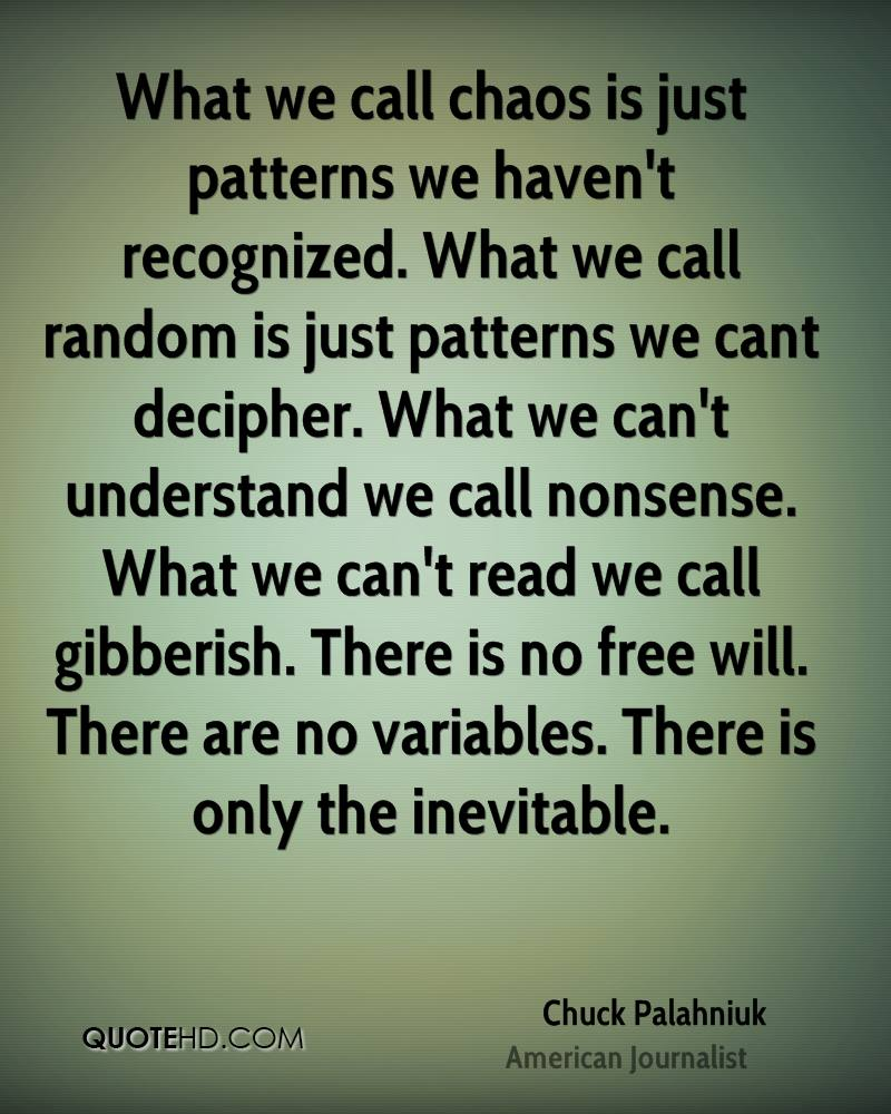 Quotes About Patterns Magnificent Design