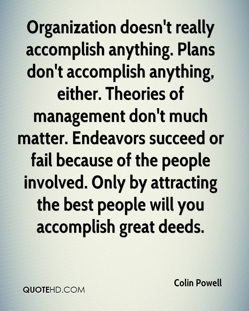 Organisations That Fail To Plan Are Planning To Fail. Do You Agree Or Disagree With This Statement?