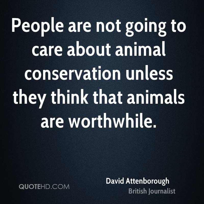Famous Wildlife Conservation Quotes: David Attenborough Quotes