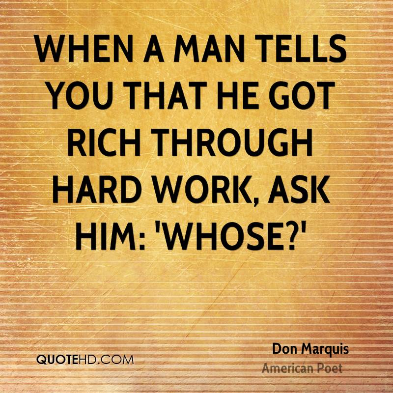 Don Marquis Work Quotes | QuoteHD