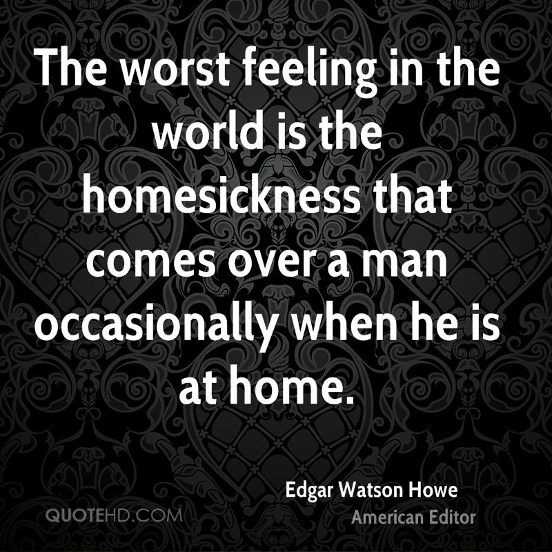 Edgar Watson Howe Home Quotes