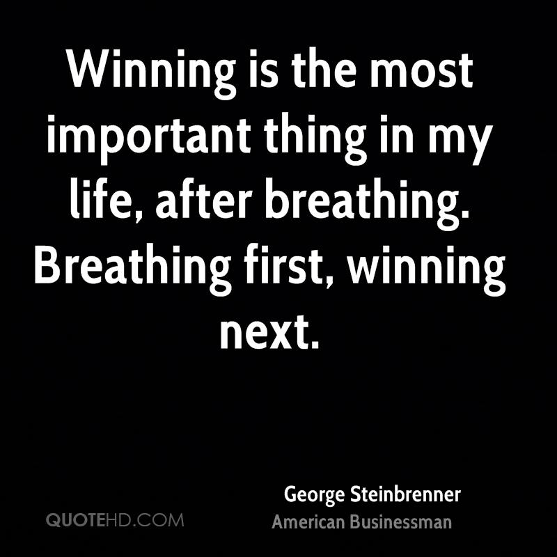 winning is the most important thing Now i'm at a club where winning is the most important thing it's something inside of me i want to help my team-mates deliver wins game in game out.