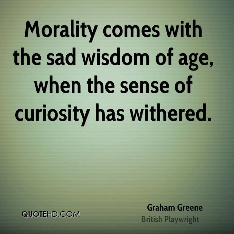 Age and wisdom