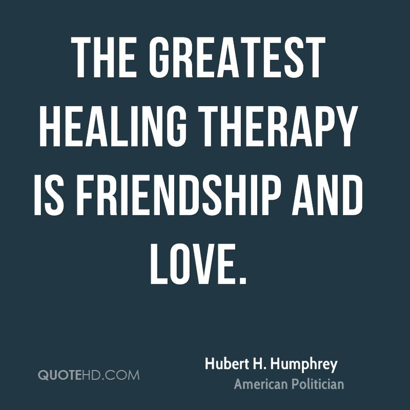 Healing Love Quotes Magnificent Hubert Hhumphrey Love Quotes  Quotehd