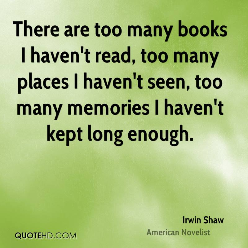 Irwin Shaw Quotes  QuoteHD