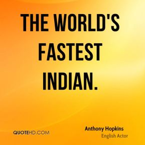 The World's Fastest Indian.