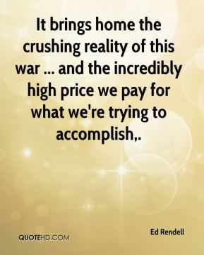 It brings home the crushing reality of this war ... and the incredibly high price we pay for what we're trying to accomplish.