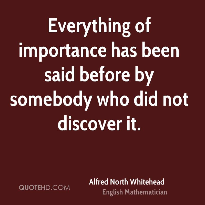 alfred north whitehead quotes - photo #9