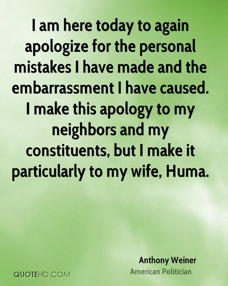 How do i apologize to my wife
