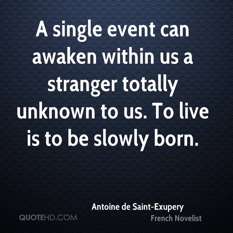 Exupery Quotes French de Saint Exupery Quotes
