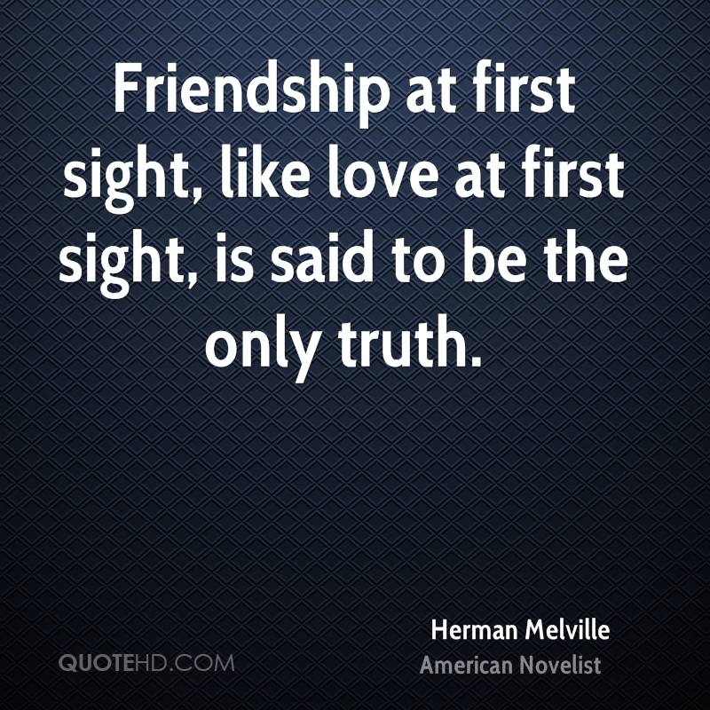 Quotes About Love At First Site: Herman Melville Love Quotes