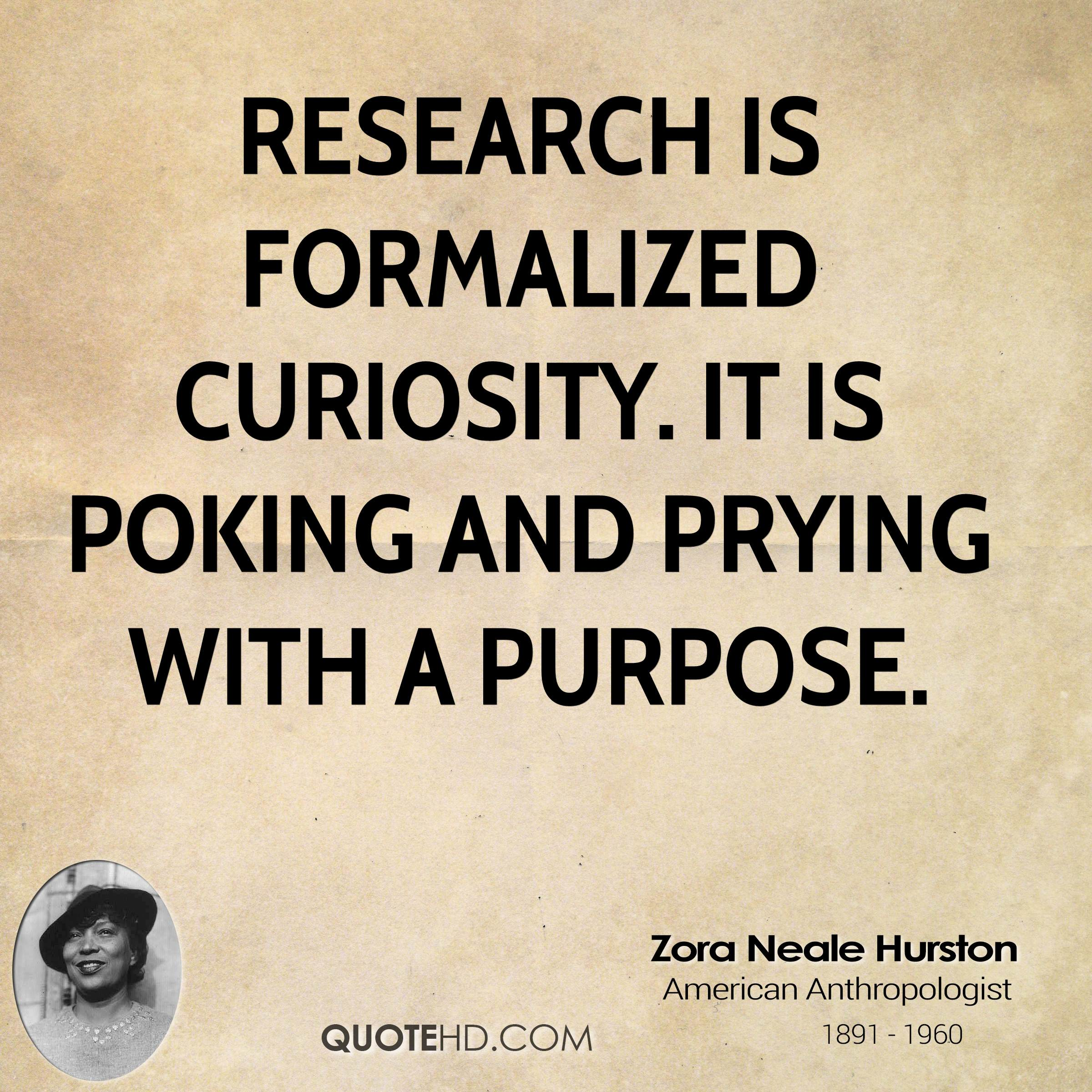 Quotes On Research Best Zora Neale Hurston Quotes  Quotehd