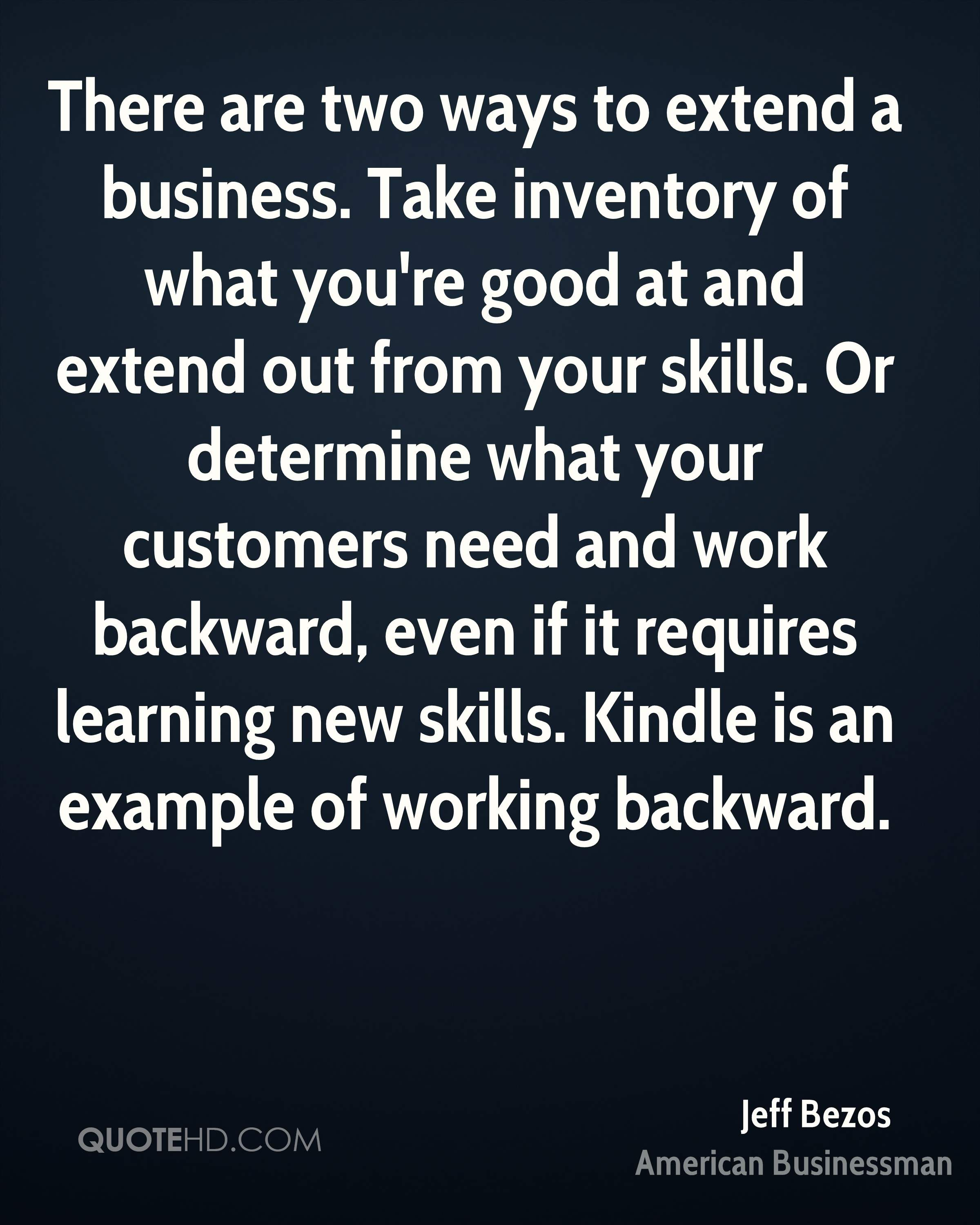 Jeff Bezos Business Quotes Quotehd