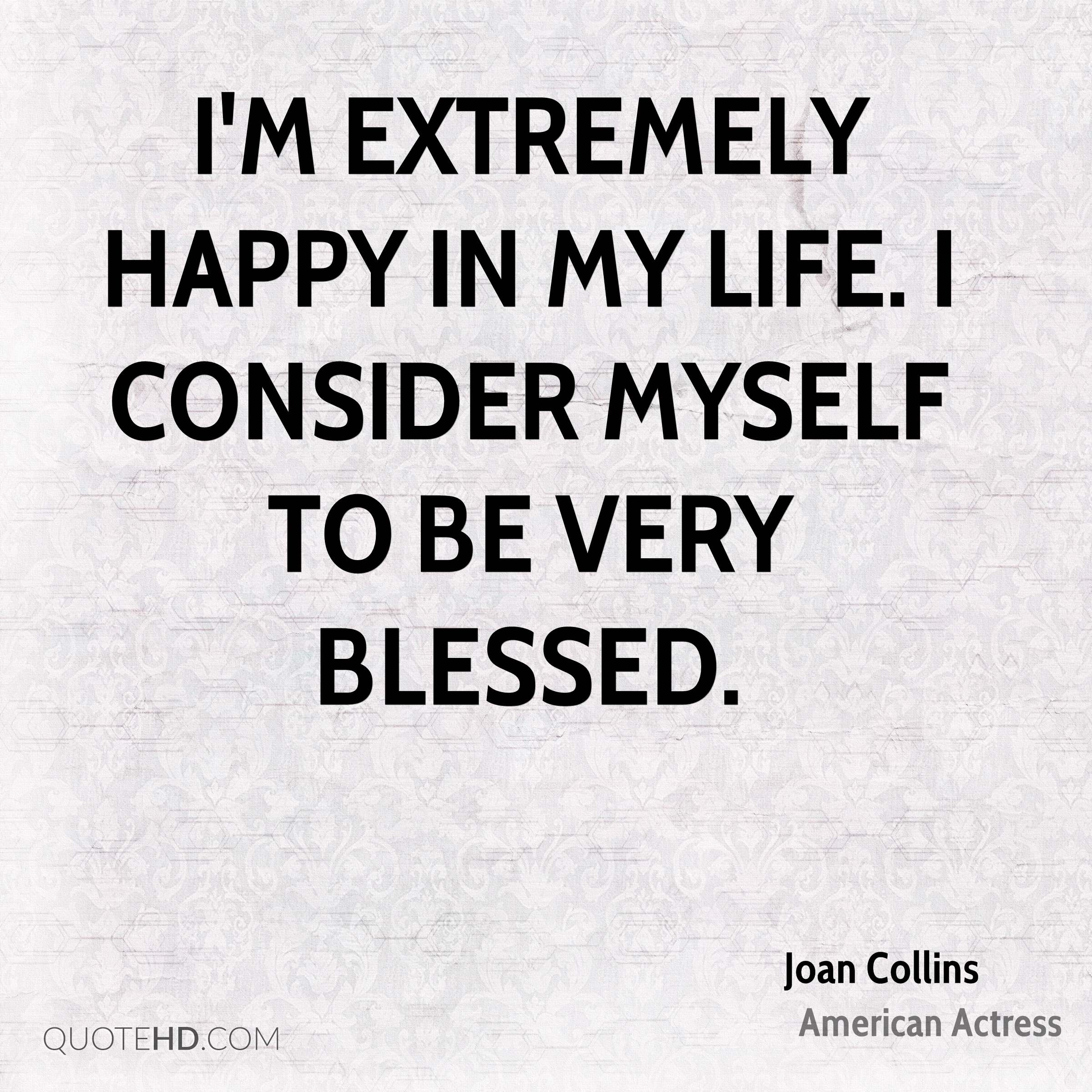 i am happy with my life quotes