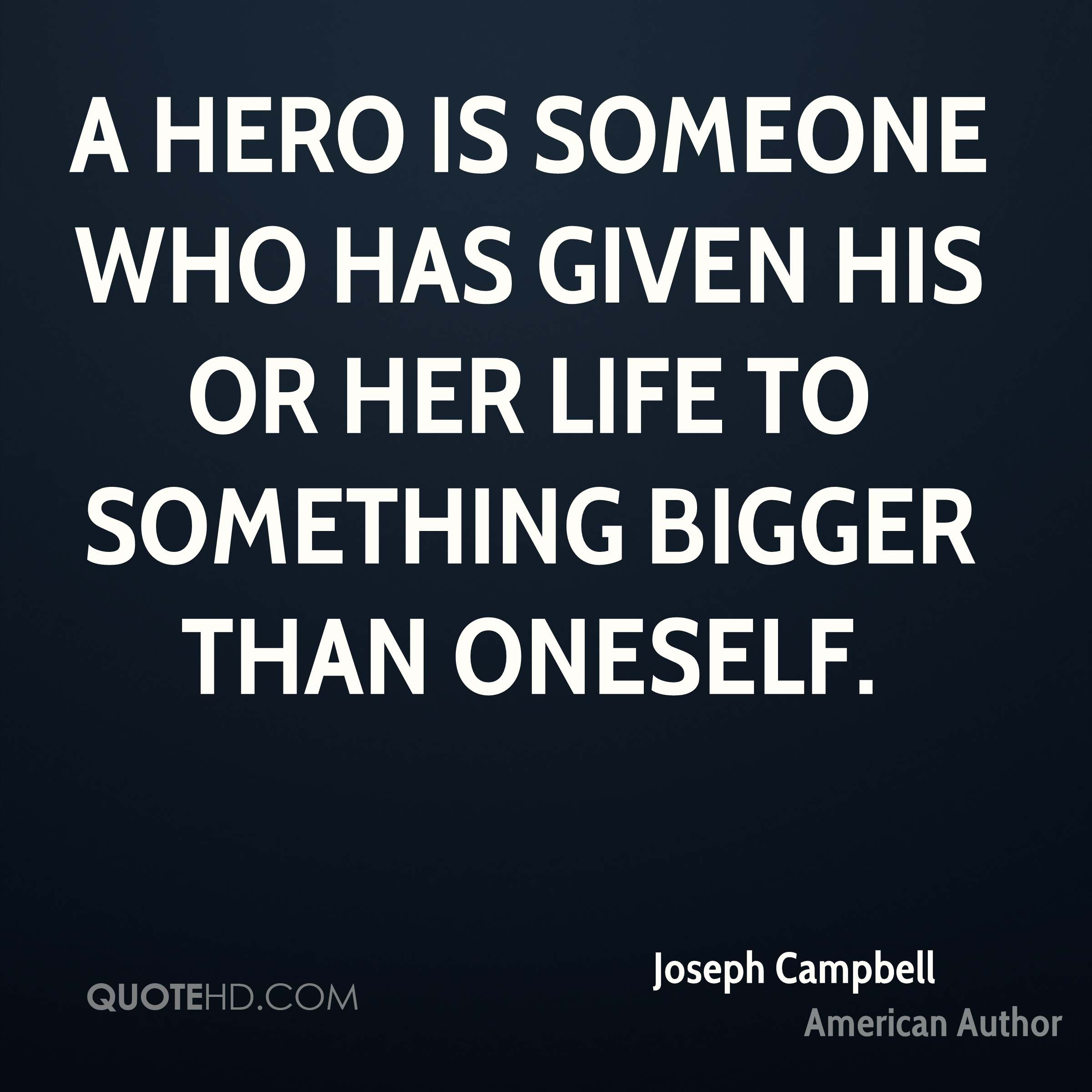 Life Quotes By Authors: Joseph Campbell Life Quotes