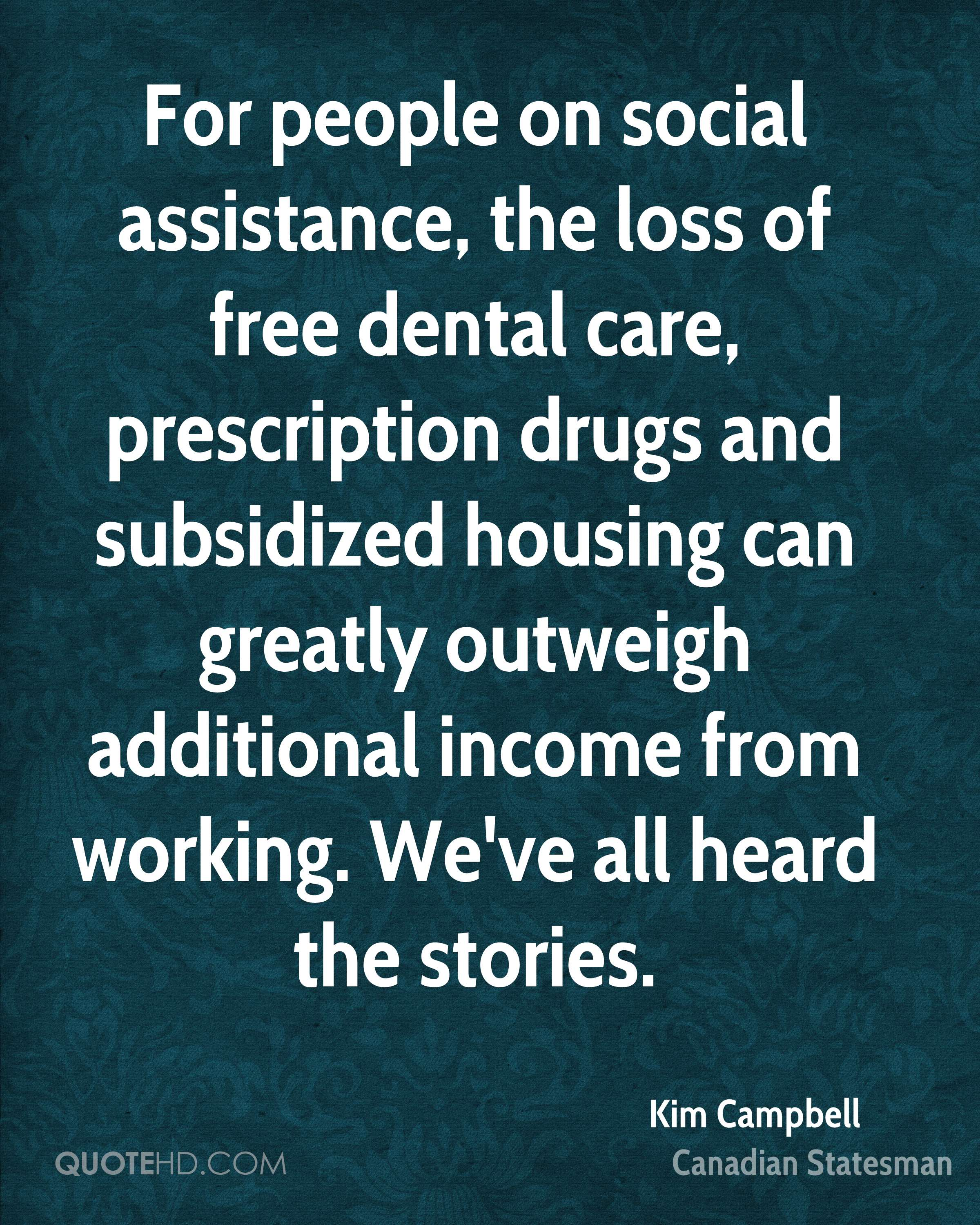 Dental Quotes Kim Campbell Quotes  Quotehd