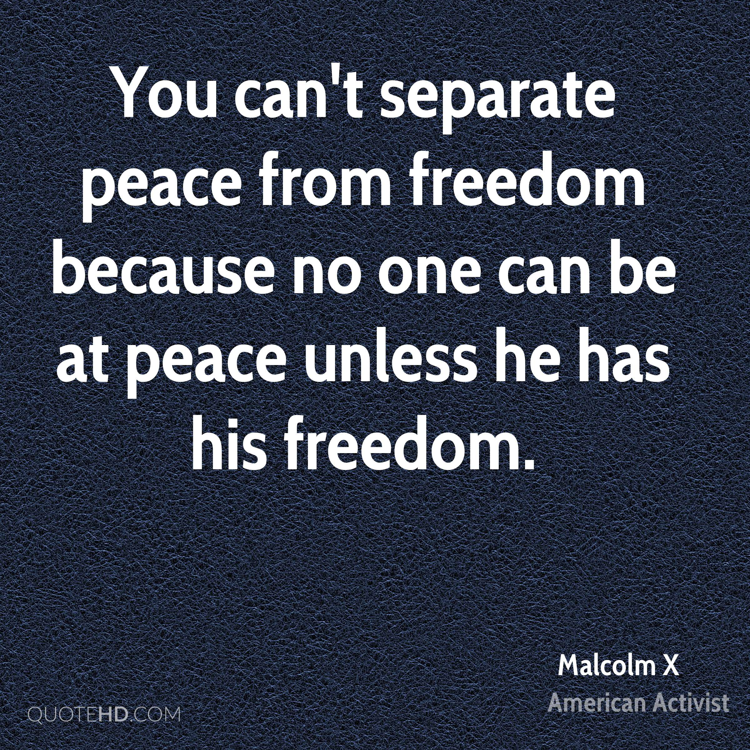 Malcolm X Peace Quotes Quotehd
