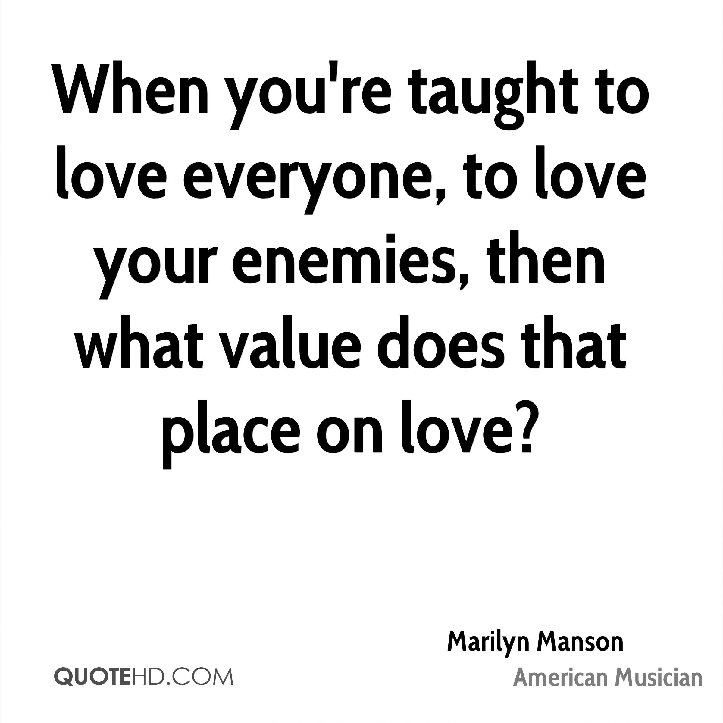 marilyn manson love quotes quotehd
