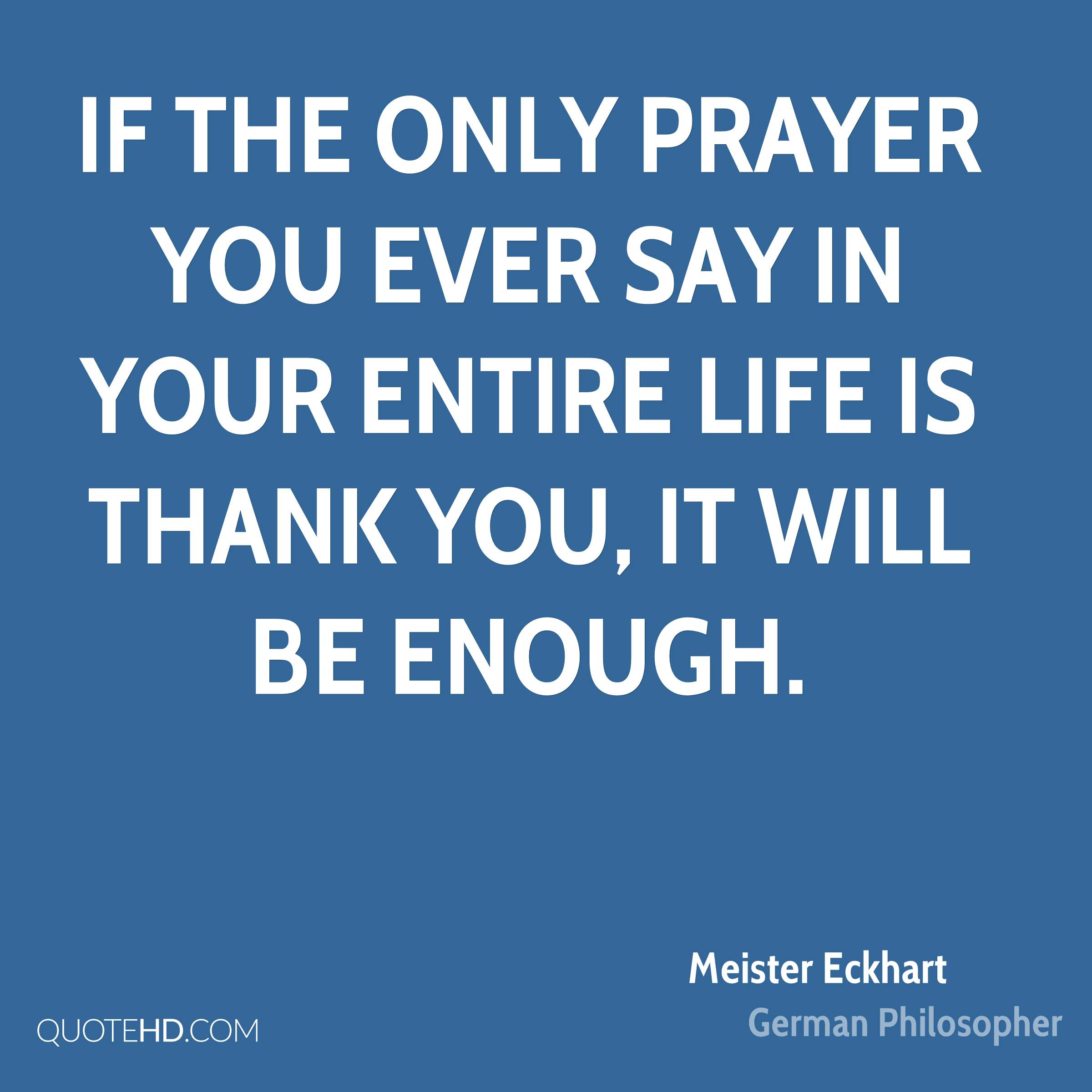 Prayer Quote Meister Eckhart Religion Quotes  Quotehd