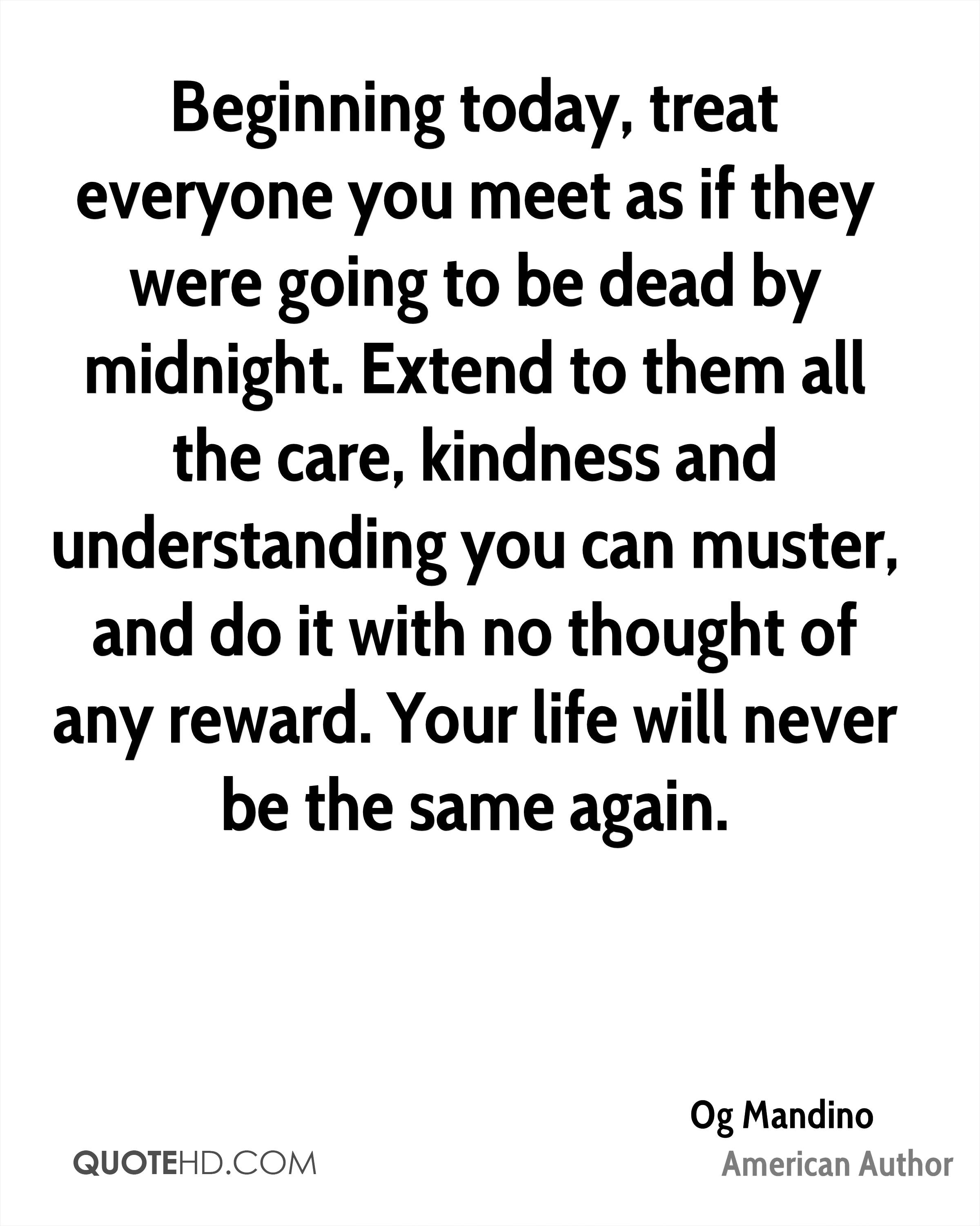Quote For Today About Life Og Mandino Life Quotes  Quotehd