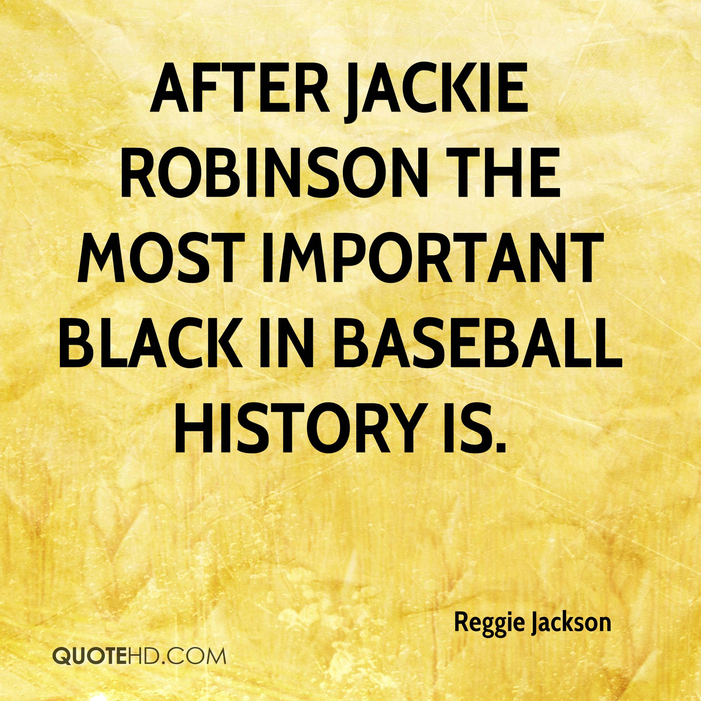 After Jackie Robinson the most important black in baseball history is.